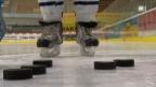 Video «Was bringt das Kühlen des Hockey-Pucks?» abspielen