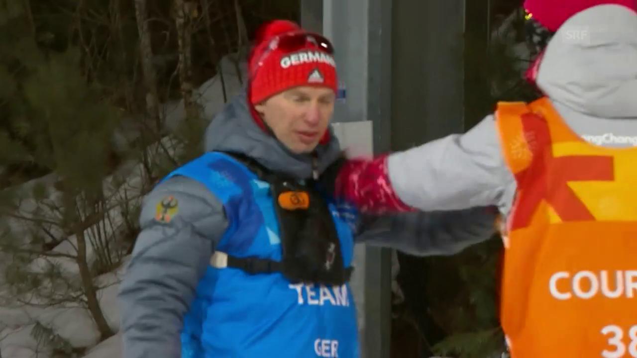 Volunteer weist Trainer rabiat zurecht