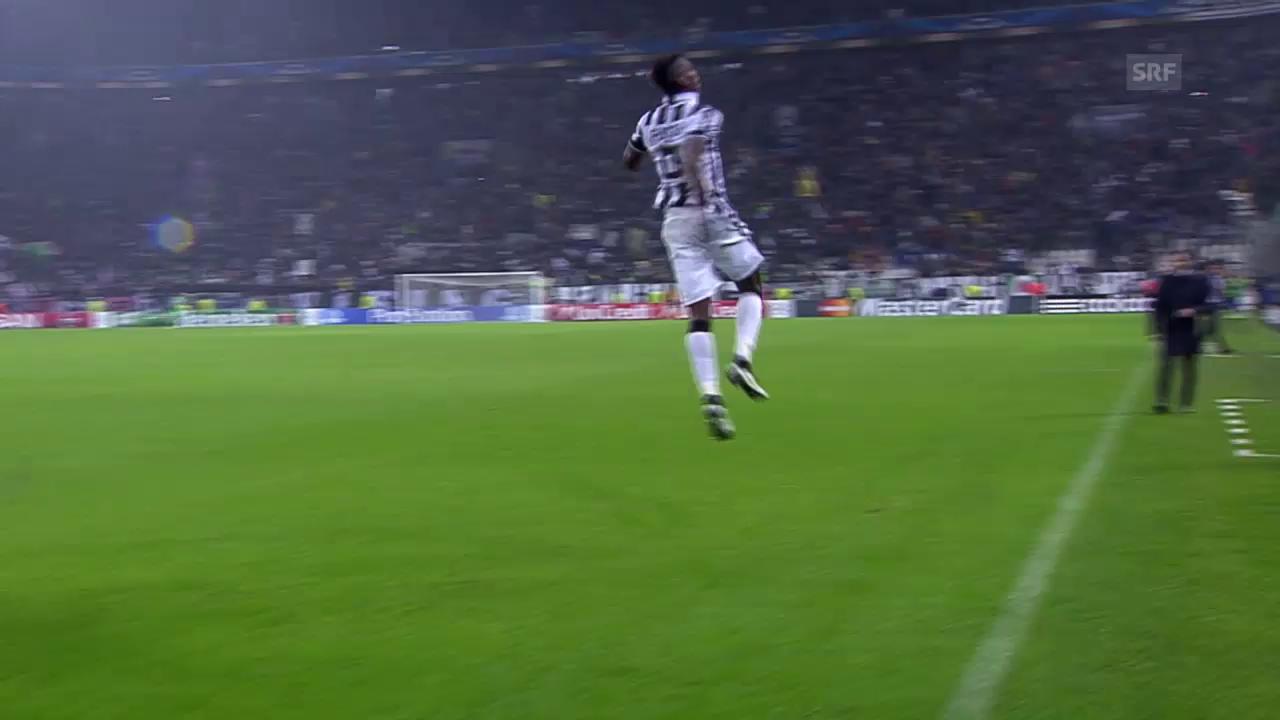 Fussball: Szenen mit Juves Paul Pogba