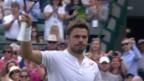 Video «Live-Highlights: So setzte sich Wawrinka gegen Fritz durch» abspielen