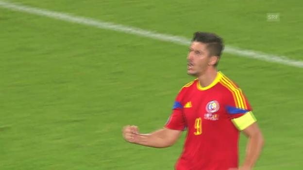 Video «Fussball: EM-Quali, Griechenland-Rumänien» abspielen