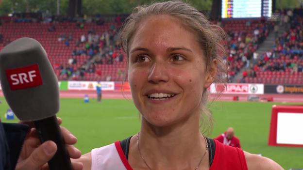 Video «LA: Interview mit Robine Schürmann» abspielen