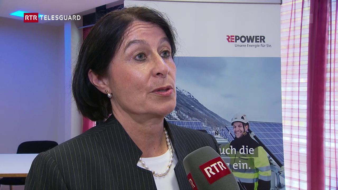 Repower: Monika Krüsi nova presidenta dal cussegl d'administraziun