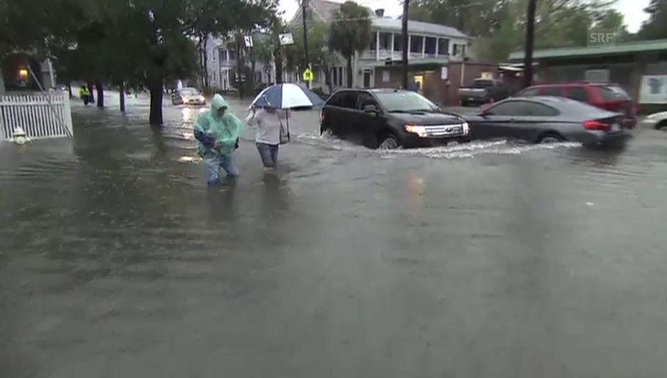 Überflutungen in South Carolina (unkomm.)