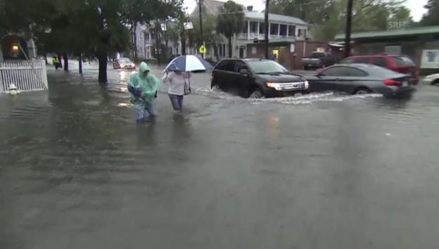 Video «Überflutungen in South Carolina (unkomm.)» abspielen