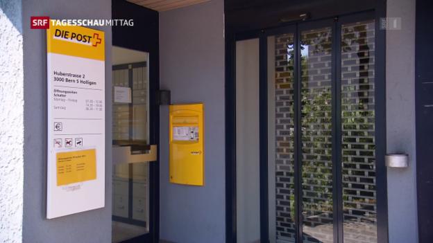 Video «Strategie für das Poststellennetz 2020» abspielen