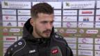 Video «Ajeti: «Wichtigster Spieler bei Vaduz war der Pfosten»» abspielen