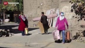 Video «Bürgerkriegsähnliche Zustände in der Osttürkei» abspielen
