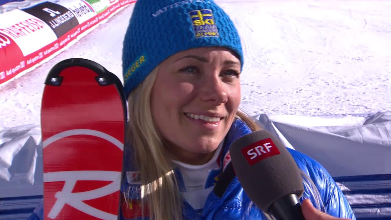 Ski-WM, Vail/Beaver Creek, SL Frauen, Inti Hansdotter