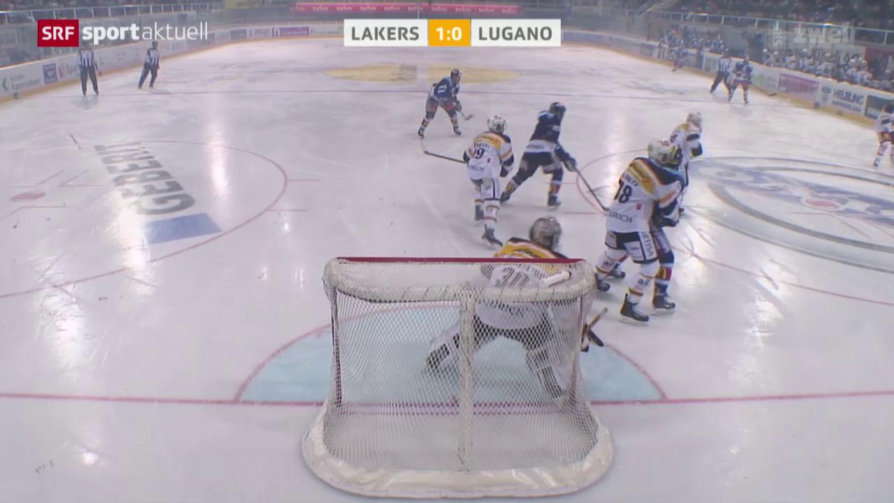 Eishockey, NLA: Lakers - Lugano