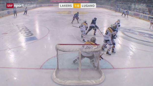 Video «Eishockey, NLA: Lakers - Lugano» abspielen