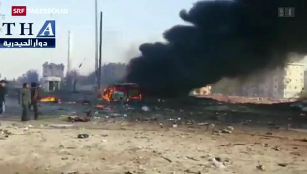 Video «Fass-Bomben töten syrische Kinder» abspielen