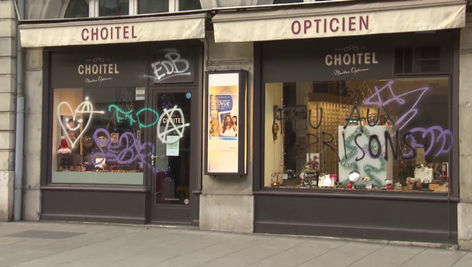 Schäden nach unbewilligter Demo in Genf