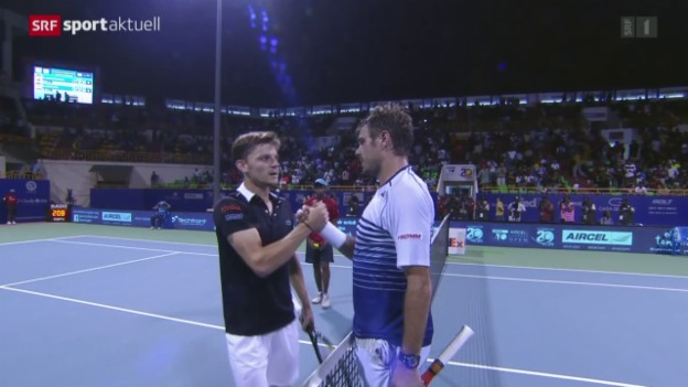 Video «Tennis: Wawrinka-Goffin» abspielen