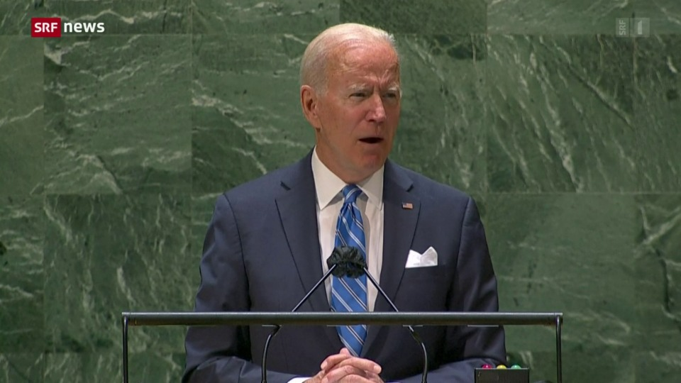 UNO-Vollversammlung: US-Präsident Bidens erste Rede