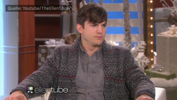 Video «Ashton Kutcher über Tochter Wyatt» abspielen