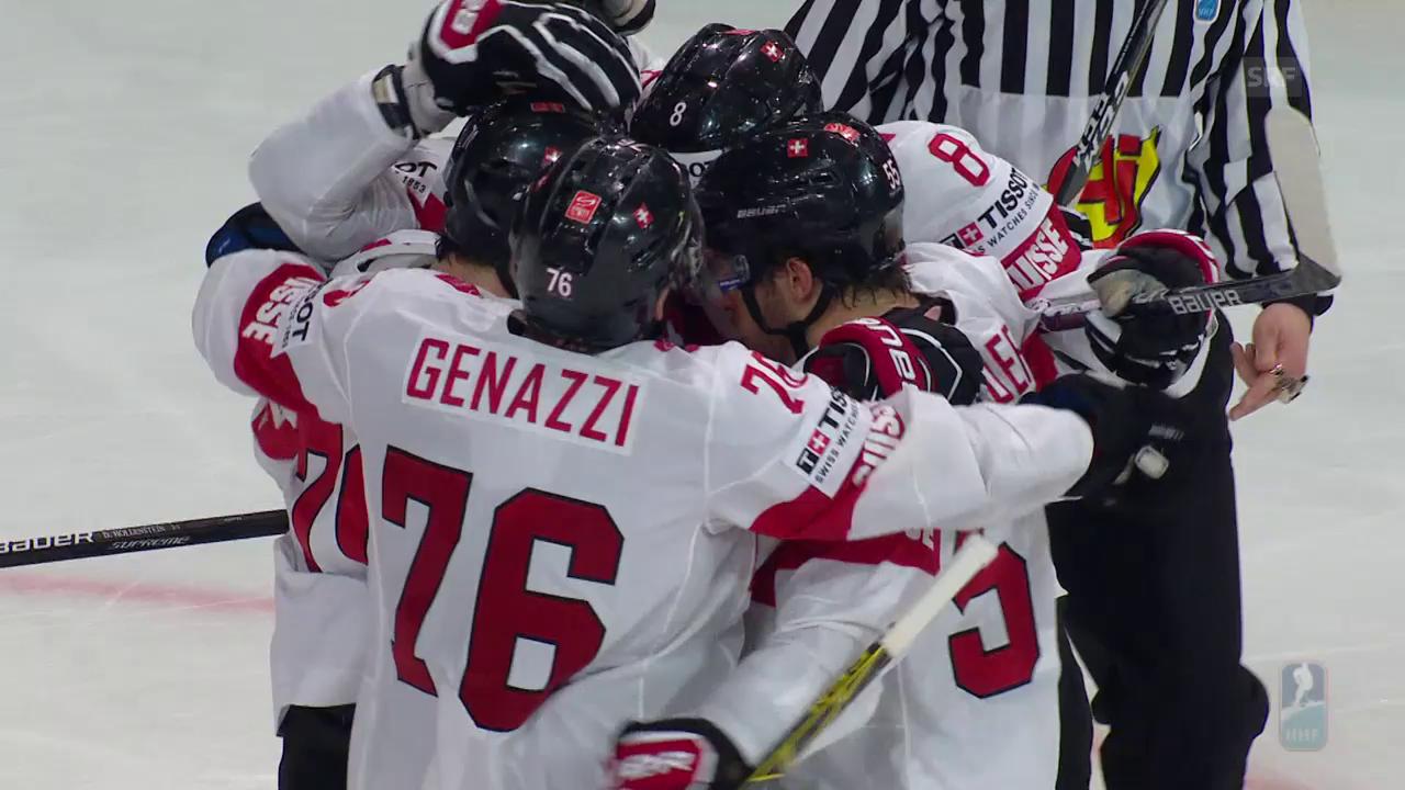 Die Schweiz siegt sensationell gegen Kanada