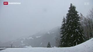 Video «Stürmischer Wetterwechsel in der Schweiz» abspielen