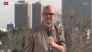 Video «Rekordwahlbeteiligung erwartet im Iran» abspielen