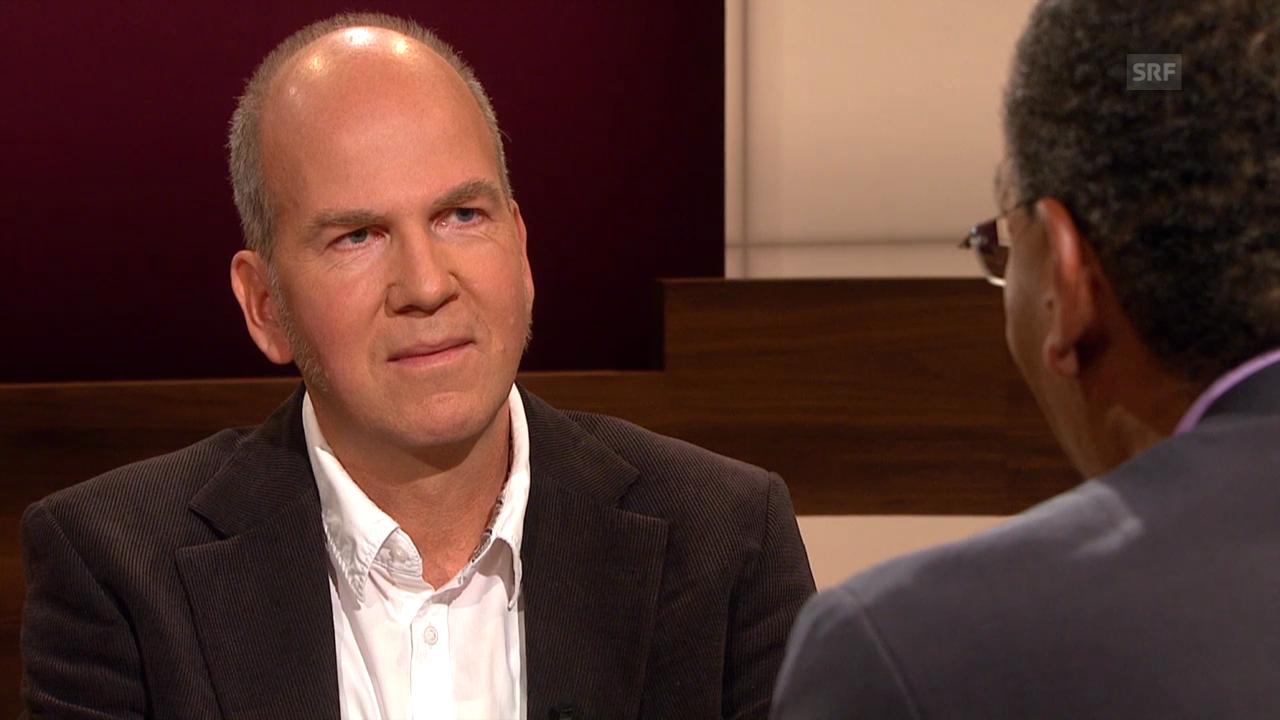 Markus Stegmann im Gespräch mit Bernard Senn