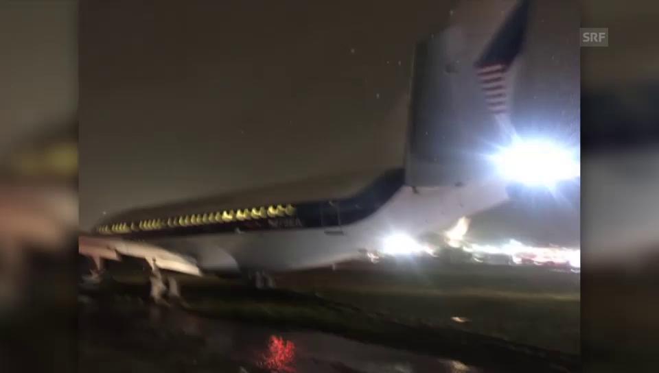 Harte Landung für Trumps Vize
