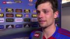 Video «Fussball: Der FCB freut sich mit Delgado» abspielen