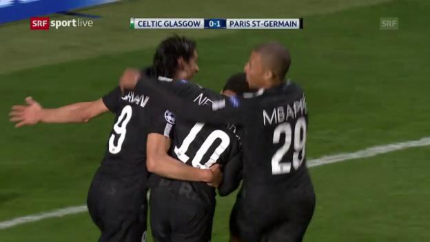 Video «Celtic geht gegen PSG unter» abspielen