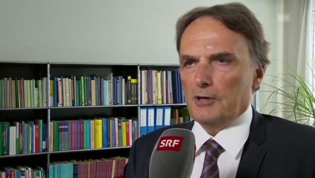 Video «BFM-Direktor zum starken Anstieg der Asylzahlen.» abspielen