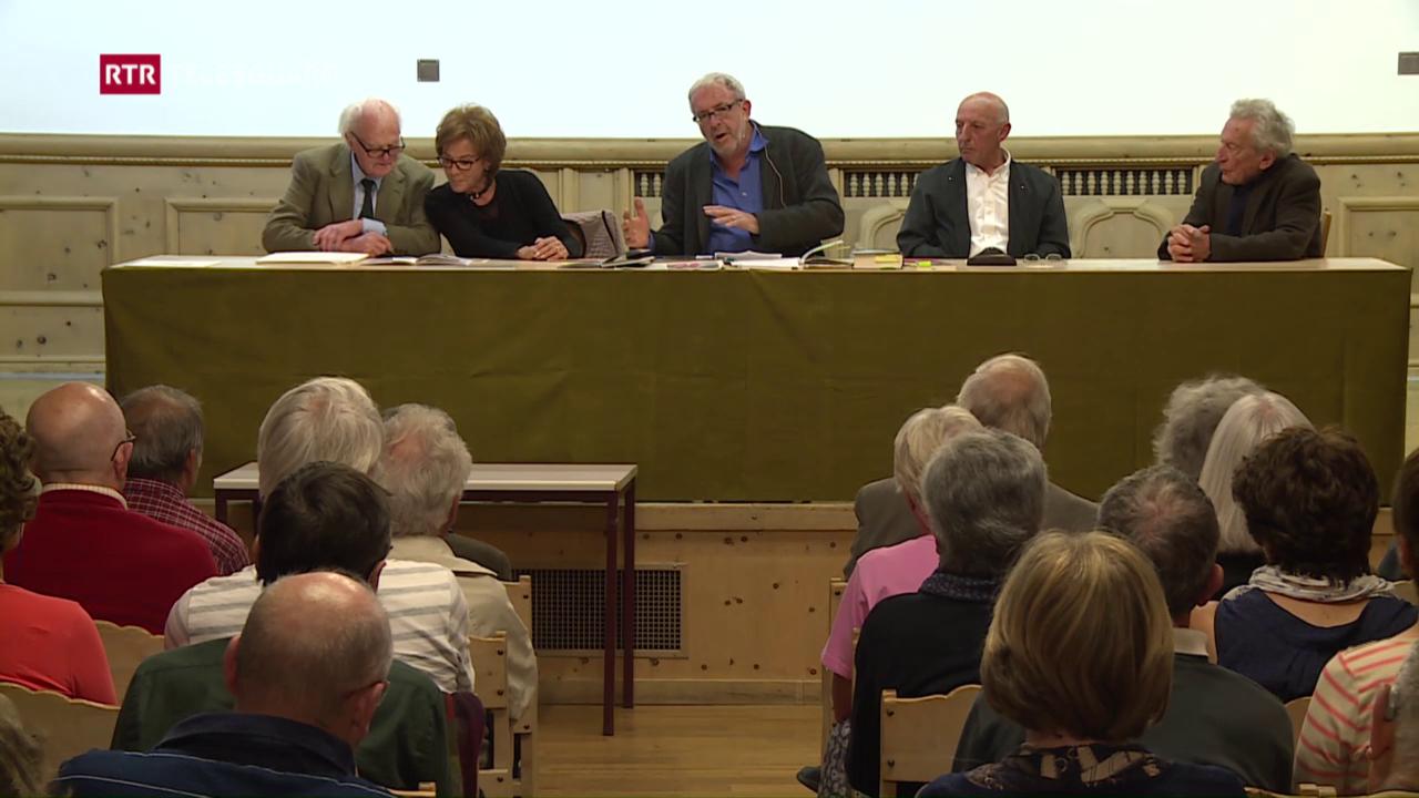 Amis e parents da l'artist discurran da lur Alberto Giacometti