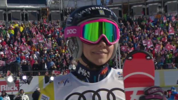 Video «Pietilae-Holmner holt entscheidenden Punkt für Schweden» abspielen