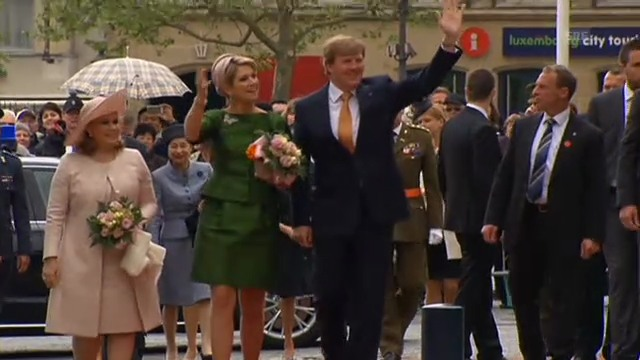 Erster Auslandsbesuch von König Willem-Alexander und Máxima (unkomm.)