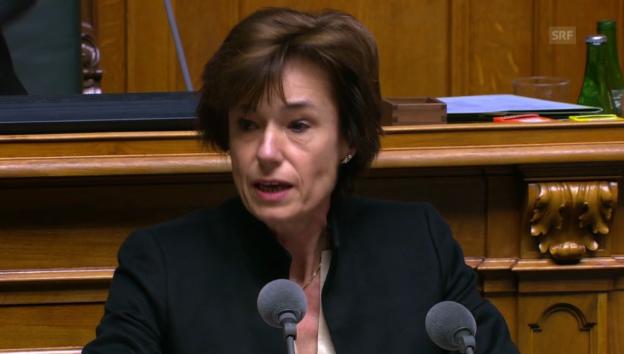 Video «Ruth Humbel Näf (CVP/AG): «Eine Scheinlösung»» abspielen