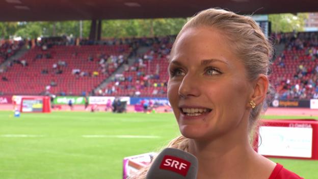Video «Leichtathletik: Interview Lisa Urech» abspielen