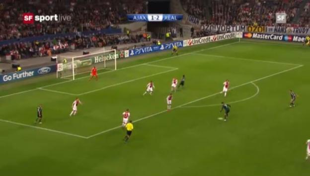Video «CL: Ajax Amsterdam - Real Madrid» abspielen