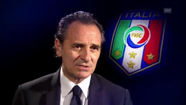 Video «Italien vor dem Confed Cup» abspielen