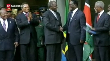 Einigung in Kenia