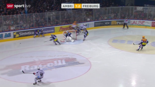 Video «Eishockey: Ambri - Fribourg-Gottéron («sportlive»)» abspielen