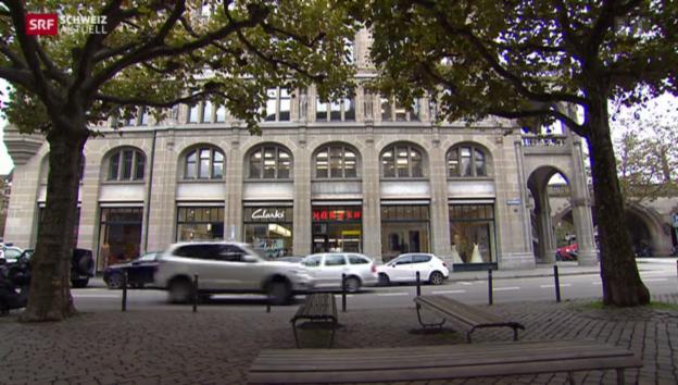 Video «Stadt Zürich kündigt kleinen Läden» abspielen