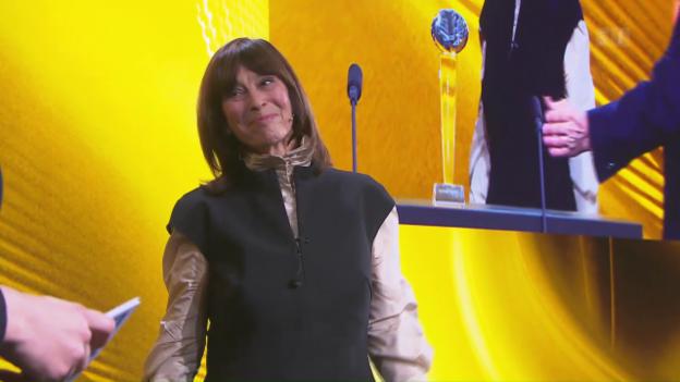 Video «Preis fürs Lebenswerk: Journalistin Margrit Sprecher wird geehrt» abspielen