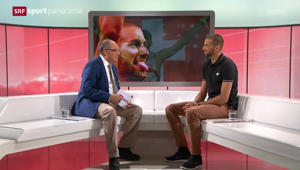 Leichtathletik: Kariem Hussein im Gespräch