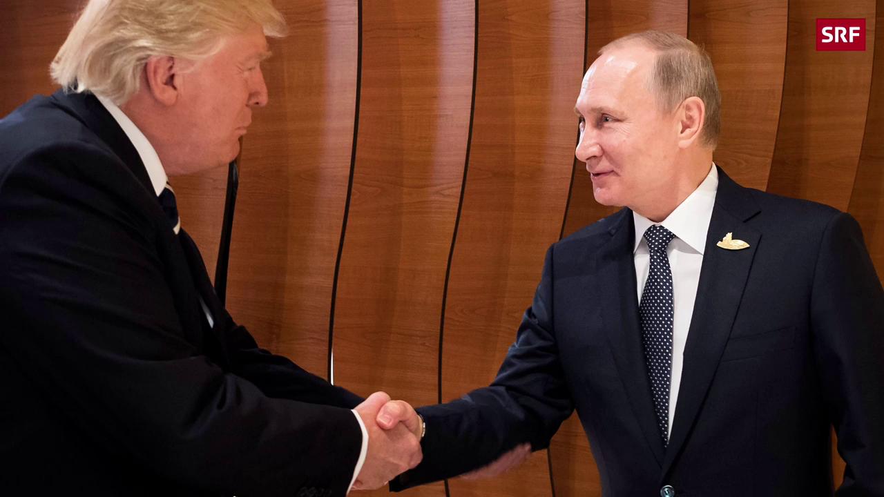 Trump und Putin reichen sich die Hand