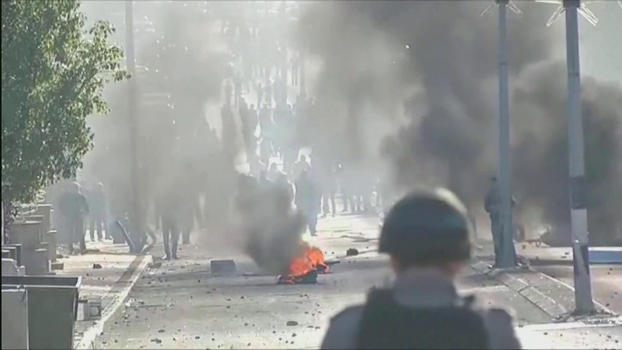 Proteste in Jerusalem