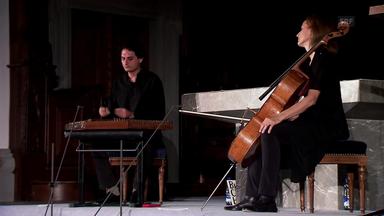 Anja Lechner und Alireza Mortazavis