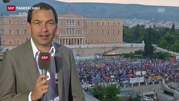 Video ««Tsipras kann machen, was er will»» abspielen