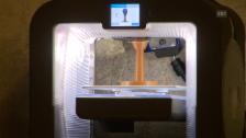 Video «Einblicke in Hacktion #2 – Dada im 3D-Druck» abspielen