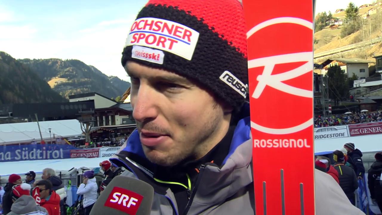 Ski: SG Gröden, Interview Janka
