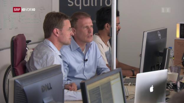 Video «Schweizer Start-up spannt mit dem Silicon Valley zusammen» abspielen