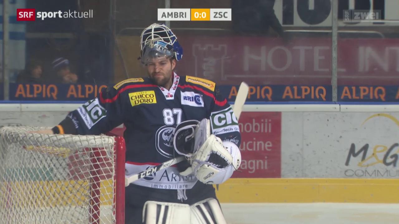 Eishockey: Ambri - ZSC Lions
