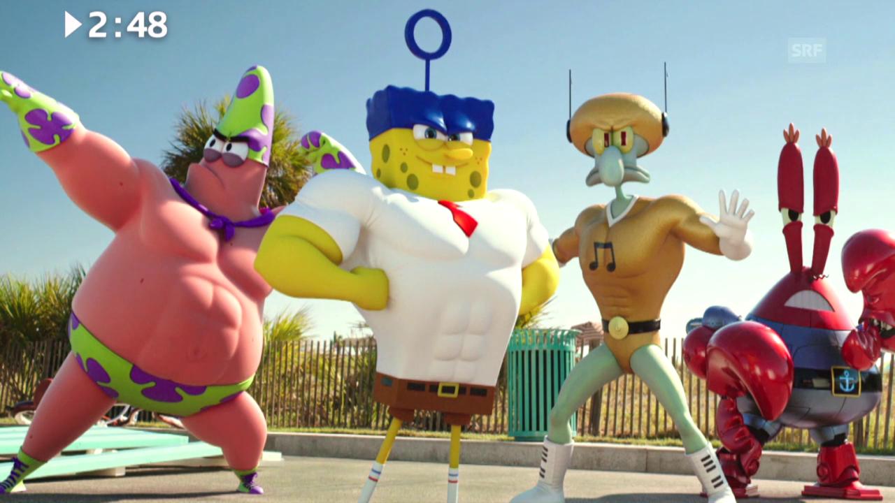 Keine 3 Minuten: «The SpongeBob Movie»