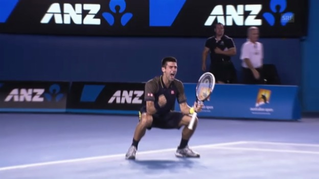 Video «Highlights Djokovic - Murray («sportlive», 27.01.2013)» abspielen